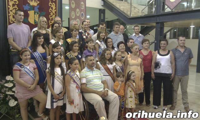 Homenaje a los Cargos Festeros en la Lonja