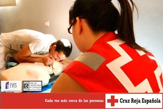 Abierta inscripción para cursos de primeros auxilios de Cruz Roja