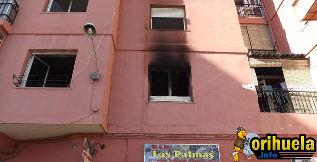 Una mujer y 2 niñas heridas en un incendio