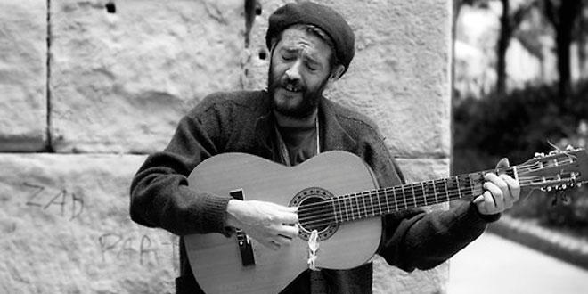 El mendigo guitarrero, por Hilarión Lillo