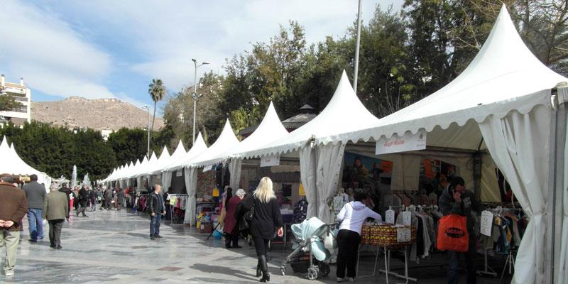 La Glorieta Gabriel Miró acoge este fin de semana la Feria del Comercio de Orihuela