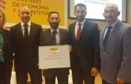 El Ministerio de Economía y Competitividad galardona a un comercio oriolano en sus Premios Nacionales