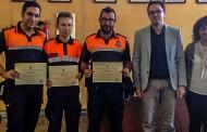El Ayuntamiento de Algorfa reconoce el esfuerzo y trabajo voluntario de Protección Civil