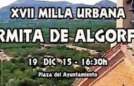 La XVII Milla Urbana Ermita de Algorfa repartirá 525 euros en premios