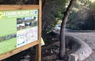 Algorfa, punto de salida de la nueva ruta senderista denominada 'La Caldera del Gigante'