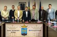 Pineda recibe a la directiva de la Policía Local de Alicante para conocer su situación y atender sus reivindicaciones