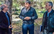 Antoni marzo, Director General del Medio Natural, y Manuel Aldeguer, Director General del Agua, visitan Guardamar