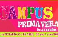 Benejúzar organiza un campus de primavera para niños de 4 a 12 años