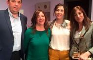 La oriolana Pepa Aniorte recibe el premio Tablas 2016 en Guardamar