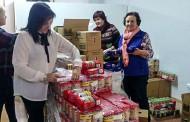 Rafal reparte más de 1,5 toneladas de alimentos ente las familias más necesitadas del municipio