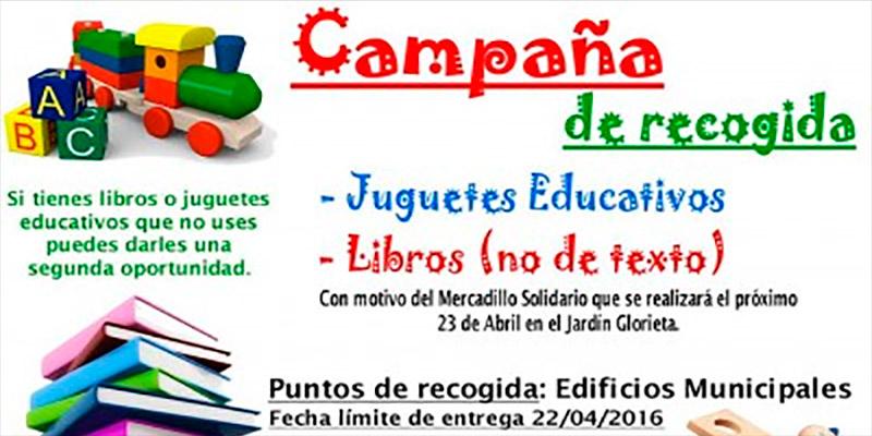 Juventud de Callosa organiza una campaña de recogida de libros y juguetes educativos