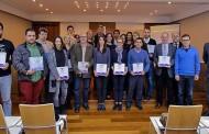 El Ayuntamiento de Guardamar entrega los distintivos SICTED a empresas y organizaciones del municipio