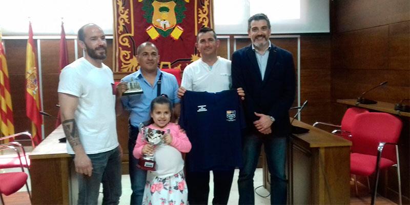 Callosa reconoce a su campeón de España de petanca