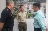 Los alumnos de bachillerato de Rafal reciben una charla sobre el acceso a la Policía Local y a las Fuerzas Armadas