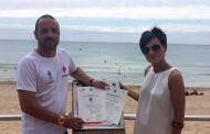 Cruz Roja pide extremar la precaución de los bañistas en las playas de Guardamar en el inicio de la temporada