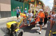 El Tío del Tractor vuelve a refrescar las calles de Bigastro