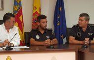 Rafal presenta al nuevo jefe de su Policía Local