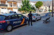 La Policía Nacional detiene a cuatro jóvenes por intentar robar en un domicilio con sus dueños en el interior