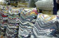 Los vecinos de Benejúzar donan a la fundación Humana 2,7 toneladas de ropa usada