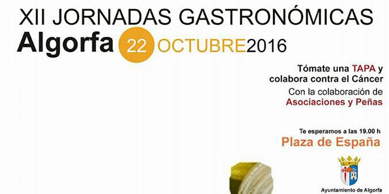 Algorfa acoge este sábado sus Jornadas Gastronómicas a beneficio de la Asociación Española Contra el Cáncer