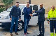 El Ayuntamiento de Benejúzar incorpora un vehículo eléctrico al área municipal de mantenimiento