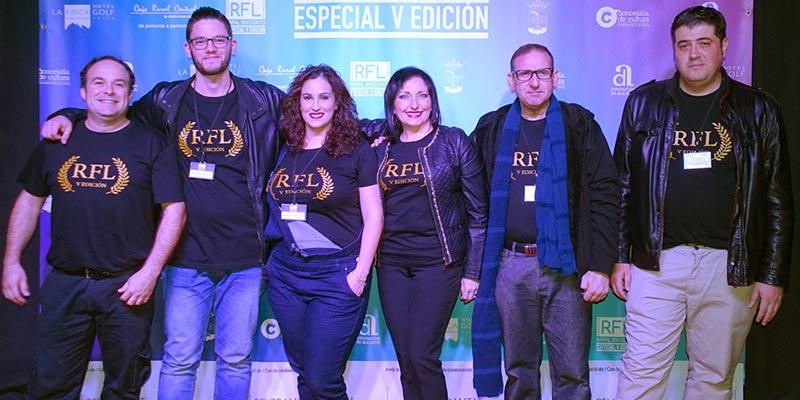 Personalidades del cine asisten a la clausura del Festival Nacional Rafal en Corto