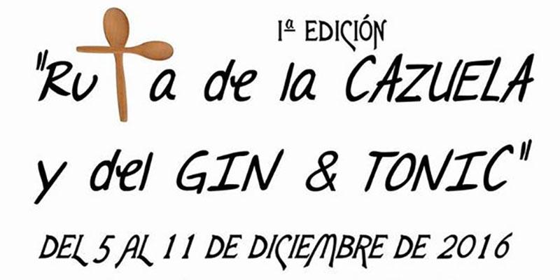 Callosa hará su primera Ruta de la Cazuela y el Gin Tonic del 5 al 11 de diciembre