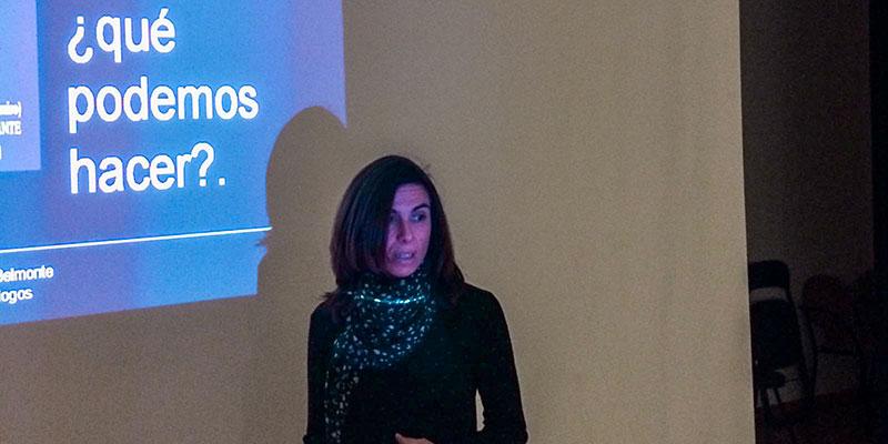 La psicóloga oriolana Sofía Cerezo explica las causas de la Violencia de Género en edades tempranas