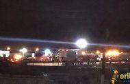Un muerto y tres heridos graves al cochar frontalmente un coche contra un camión