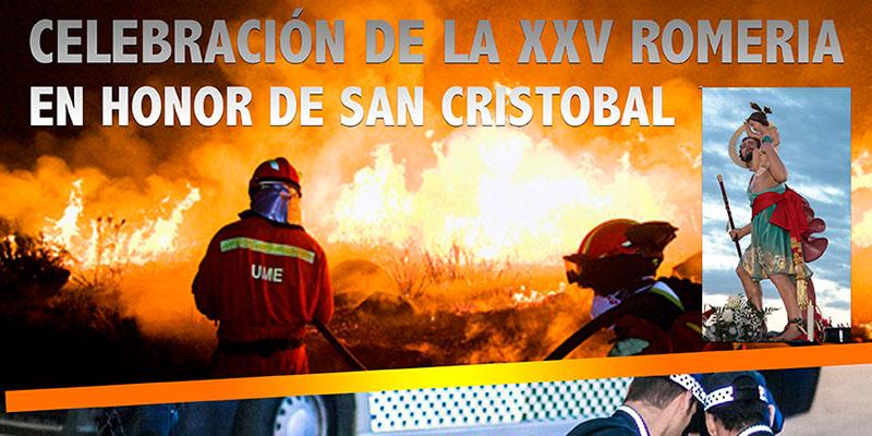 Redován acoge el lunes unas exhibiciones militares con motivo del 25 aniversario de la Romería de San Cristóbal