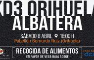 El equipo de baloncesto Kd3 Orihuela organiza una recogida de alimentos a favor de Vega Baja Acoge