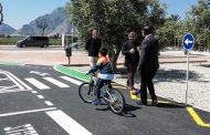 Redován estrena un parque infantil de tráfico para educar a los más pequeños en seguridad vial