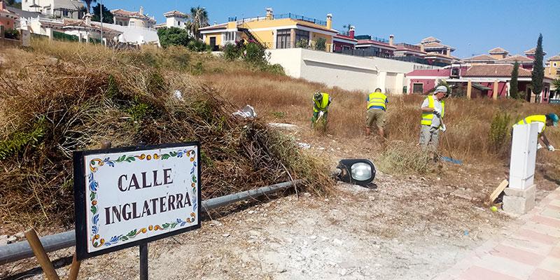 Bigastro contrata a once personas para prevenir incendios en la zona de La Pedrera, los caminos rurales y las zonas verdes