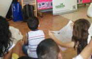 La Escuela Infantil La Paz participa en un taller de reciclaje