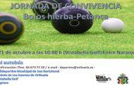 Deportes une a la Federación Valenciana de Bolos-Hierba y al club de petanca de Orihuela