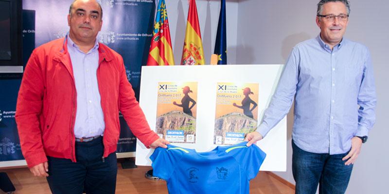 """La XI edición de """"Orimuela"""" lleva de nuevo el deporte hasta los 455 metros de altitud de la Cruz de la Muela"""