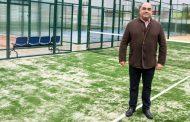 Deportes reabre las pistas de pádel del Palacio del Agua tras los trabajos de acondicionamiento