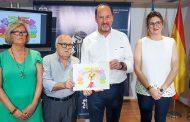 El Oriol dibujado por Ortuño protagoniza la tarjeta de la invitación a la recepción de la Síndico Portadora de este año