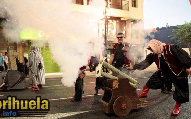 Los festeros, preparados para la Guerrilla tras hacer un curso de armas de avancarga
