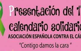 La AECC presenta un calendario solidario en el que han participado 17 pacientes de Orihuela