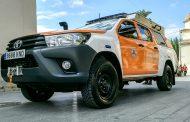 Emergencias presenta un nuevo vehículo todoterreno que se incorpora a la flota de Protección Civil