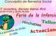 Orihuela celebrará el Día Universal del Niño el próximo sábado 17 con diversas actividades