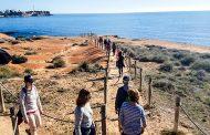 Alta participación en la ruta turística medioambiental de Orihuela