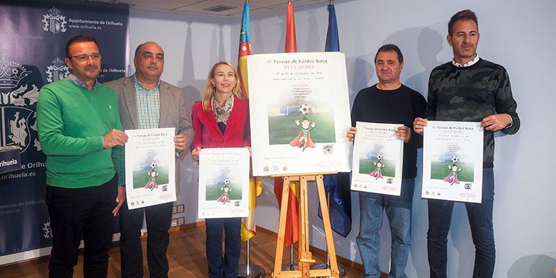 'Los Arcos' acogerá los días 29 y 30 de diciembre la tercera edición del Torneo de Fútbol Base solidario