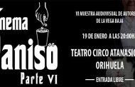 La VI edición de Cinema Paniso  tendrá lugar el 19 de enero en el Teatro Circo