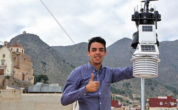 Ya es posible acceder a la Red Meteorológica de MeteOrihuela desde su web