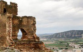 Patrimonio Histórico analiza los daños del derrumbe de una parte de la Torre Taifal del Castillo