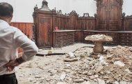 La iglesia de las Santas Justa y Rufina sufre un derrumbe del techo de la sacristía